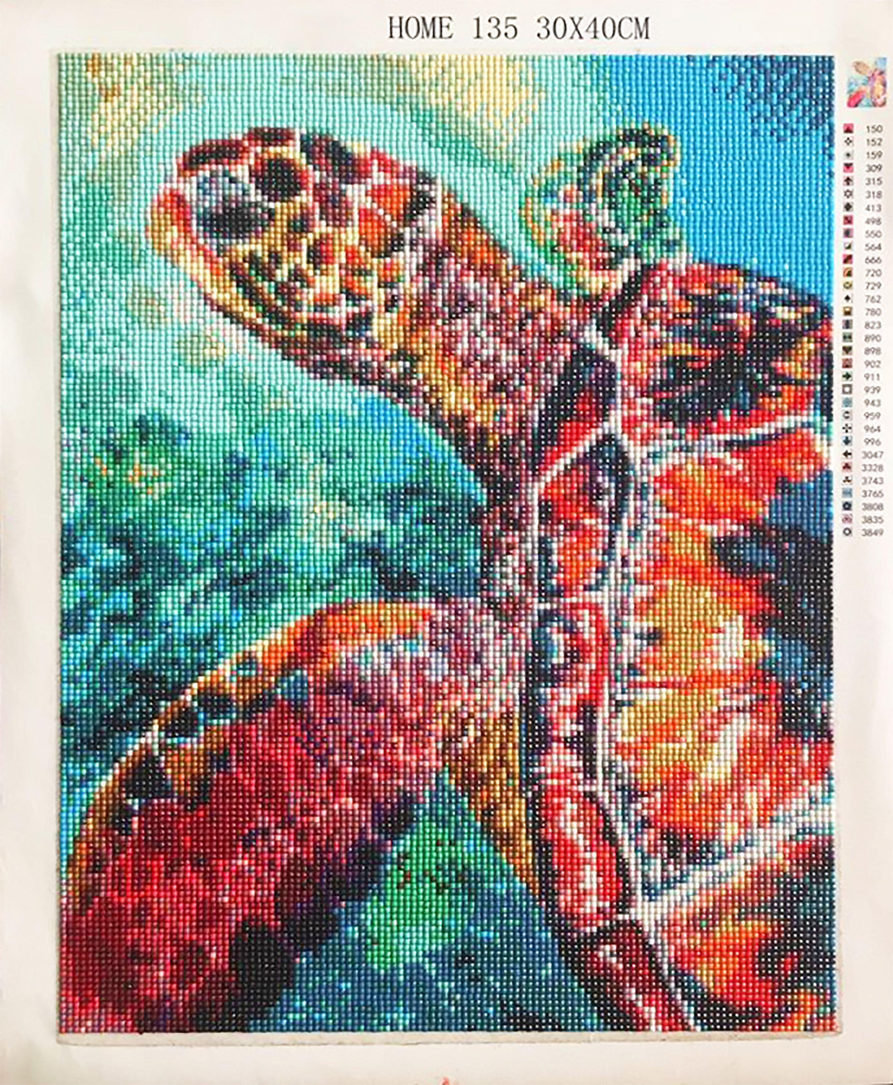 2019 5d diy diamond painting kits portrait of turtle