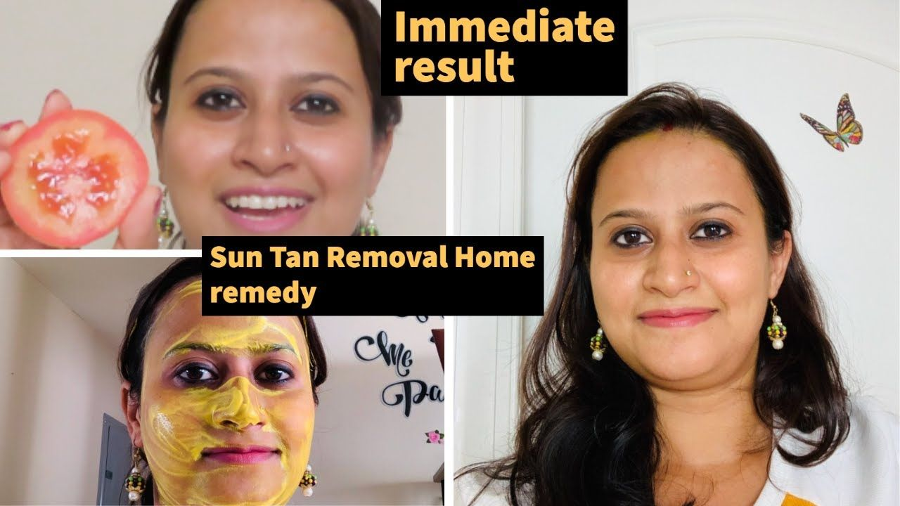 How to Remove Sun Tan From Your Face Quickly suntan