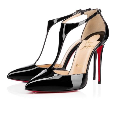 Sapatos femininos - J corda de Patentes - Christian Louboutin