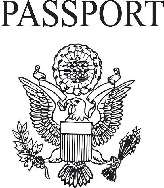 Pretend passport, Passport Stamp, DIY Passport, Rubber
