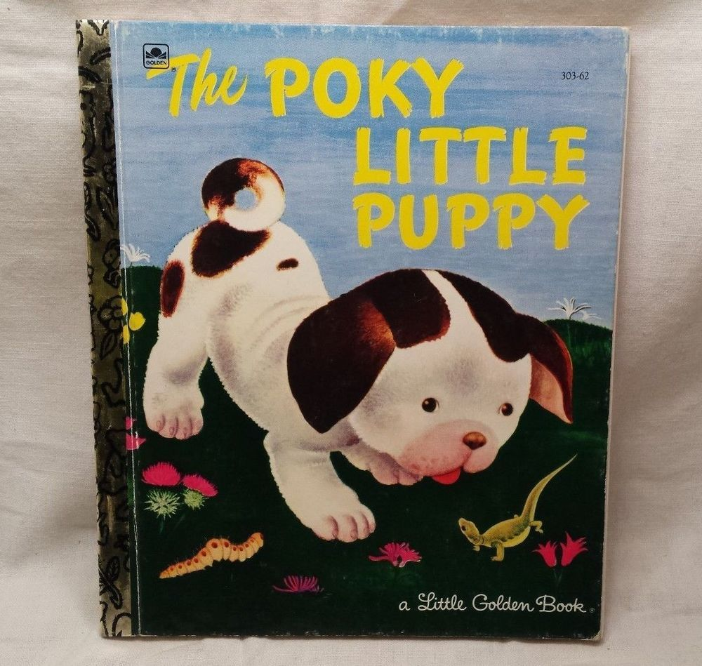 roly poly puppy golden book