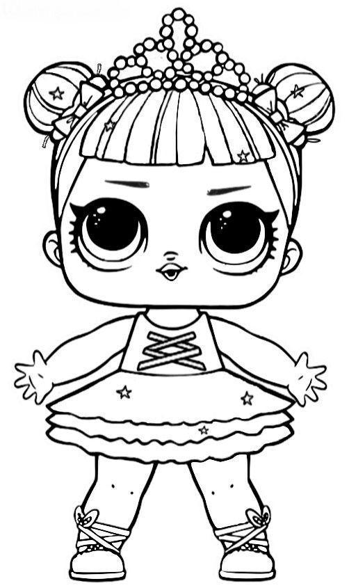 Dibujos para Colorear: Muñecas LOL | IMPRIMIBLES / PRINTABLES ...