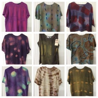aff3bfca71b7 Tie-dyed shirts with Rit Dye