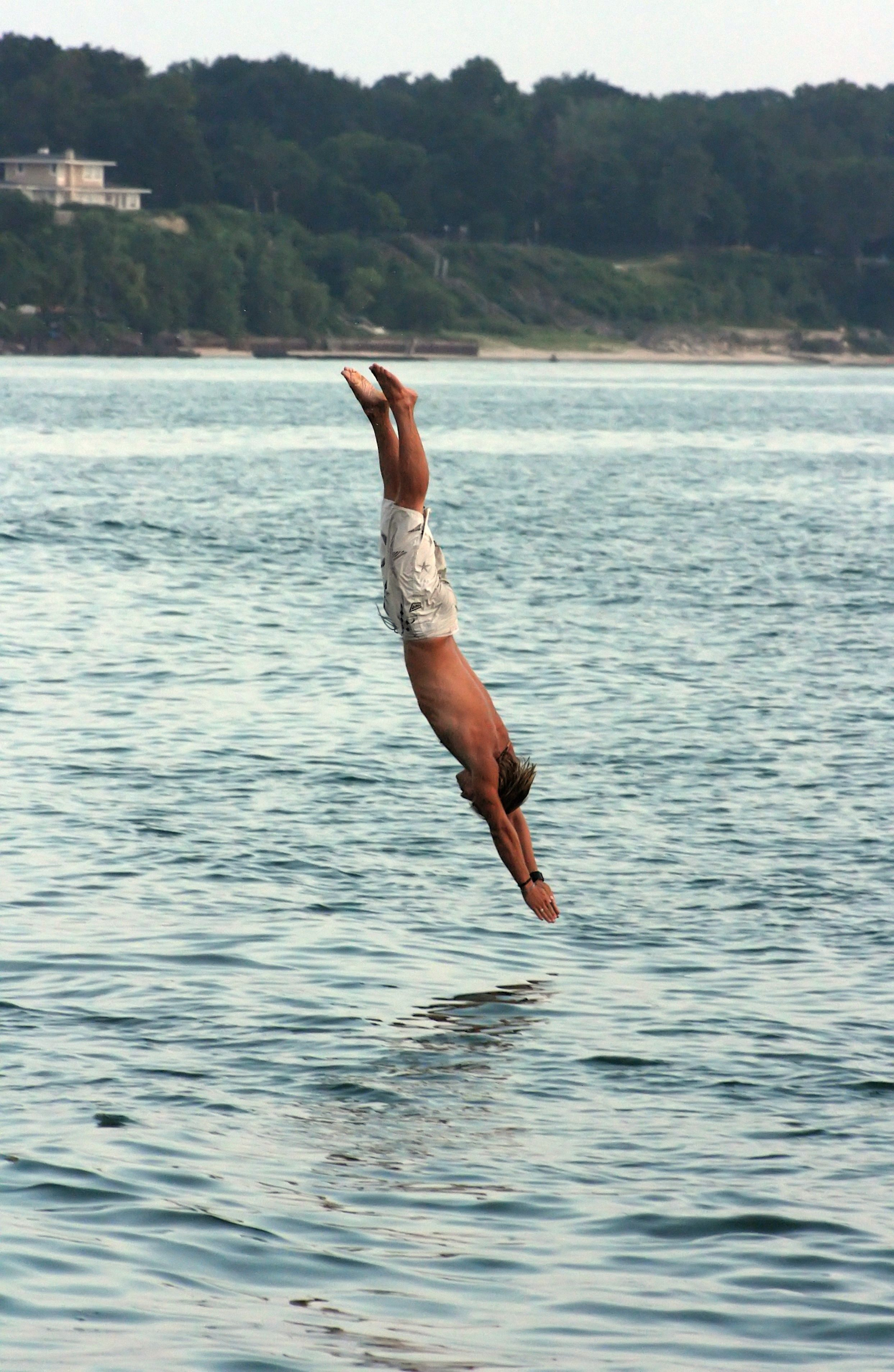 People Often Feel Free When They Are Swimming In Water