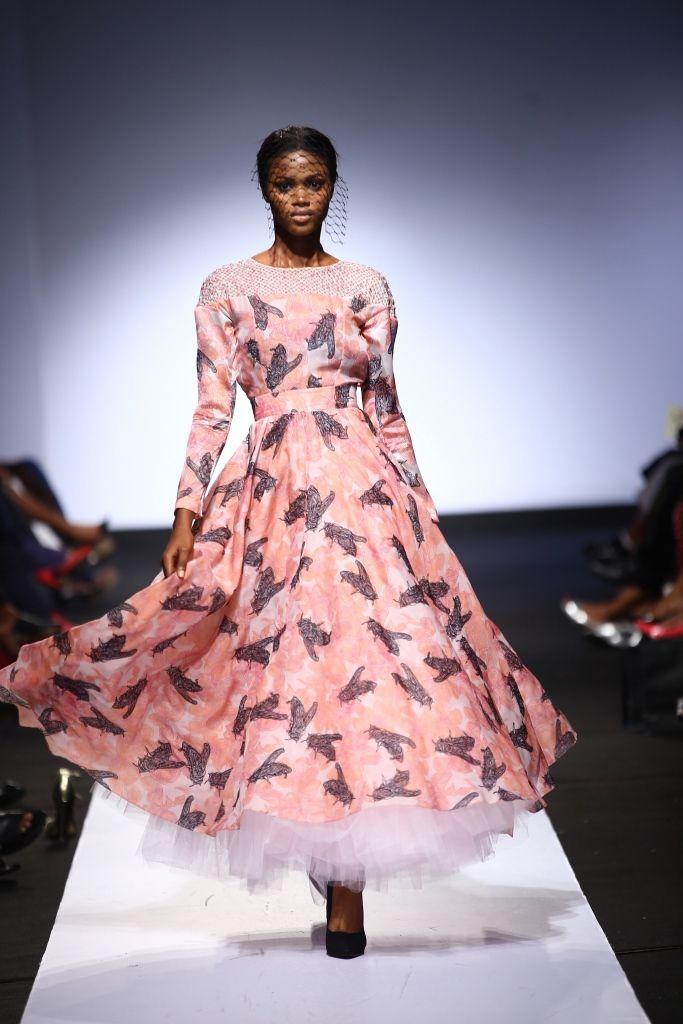 onalaja lagos fashion week - fabric embellishment