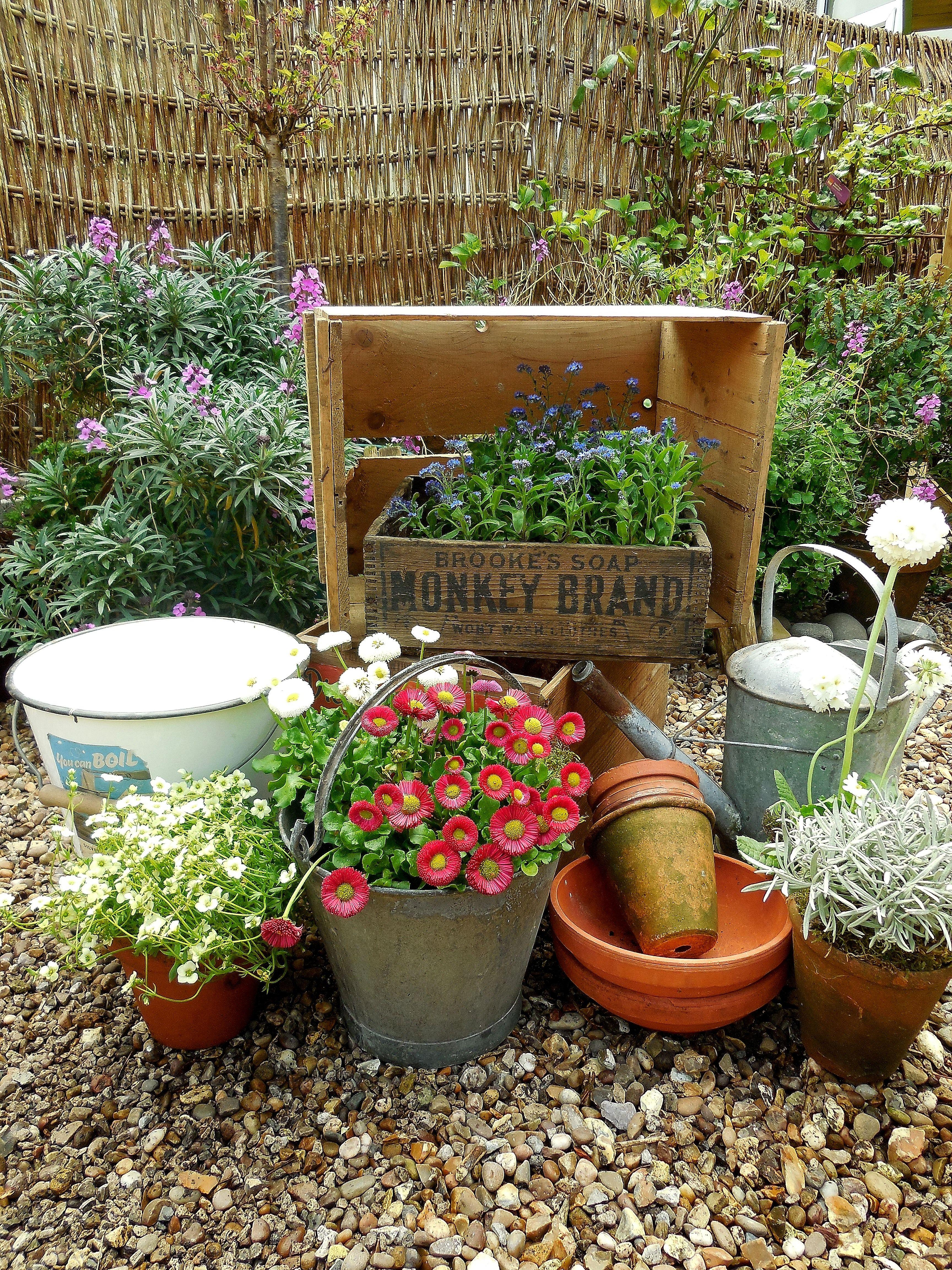 We love vintage gardenalia at Lavender House Vintage #vintage#garden ...