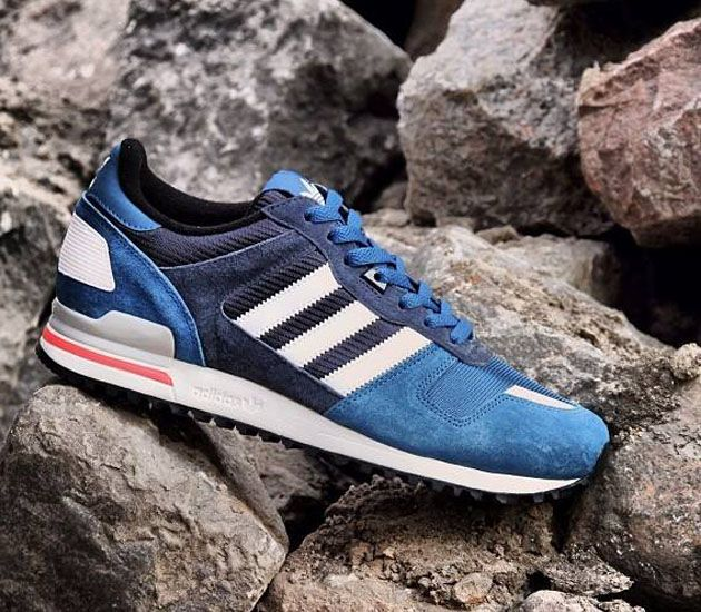 adidas ZX 700 - Tribe Blue Melange / Running White - Legend Ink