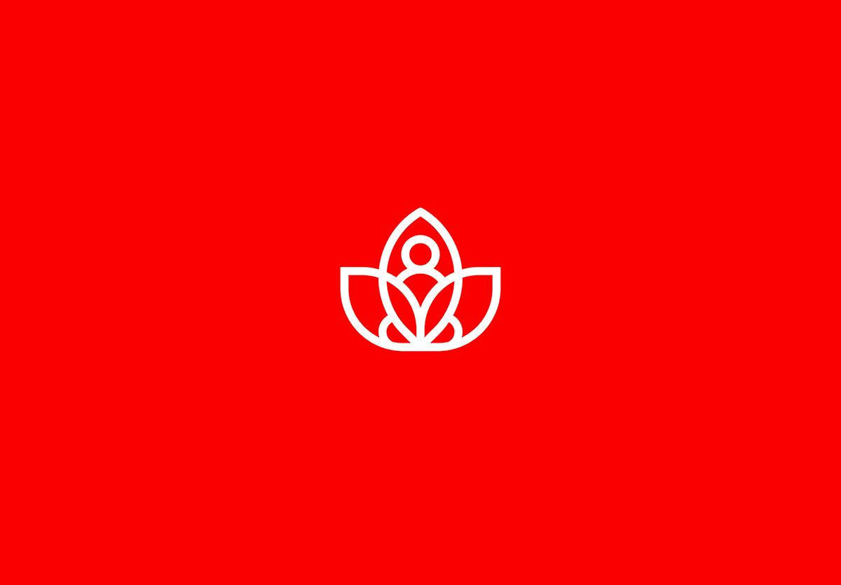 meditation logo design on behance logo design logos logo shapes pinterest