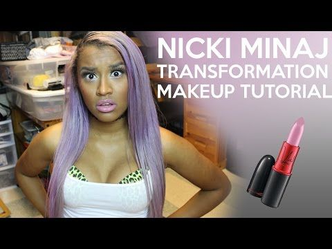 Nicki Minaj Transformation Makeup Tutorial OffbeatLook - YouTube - nicki minaj halloween ideas