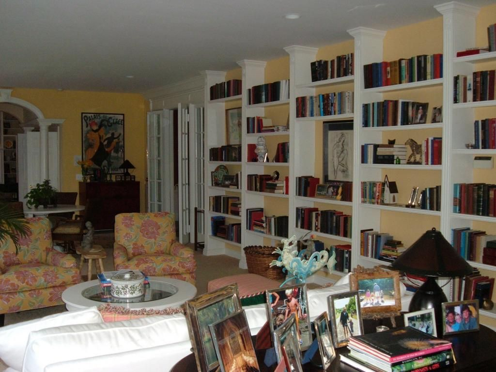 Built In bookcases — Different Style