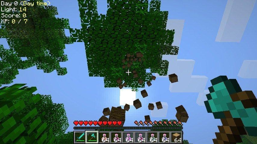 Treecapitator Mod 1 6 1 Minecraft All Minecraft Minecraft Mods