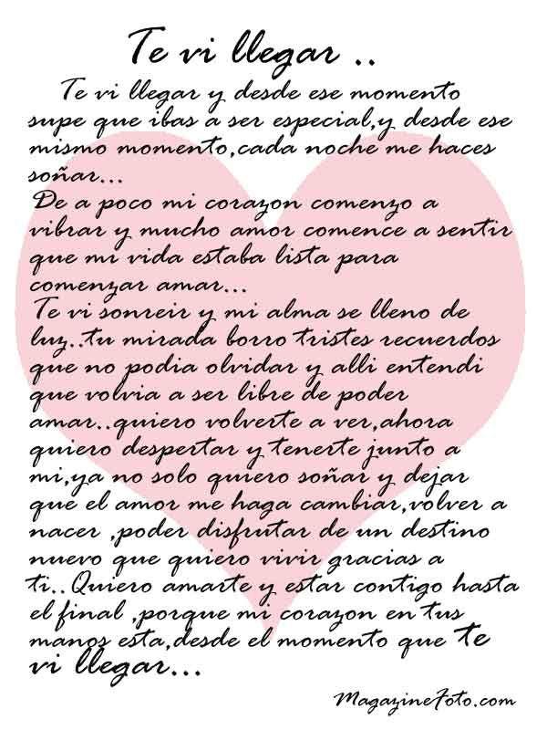 La Mejor Carta Poema Para Dedicar A Tu Gran Amor Y Decirle Te Amo