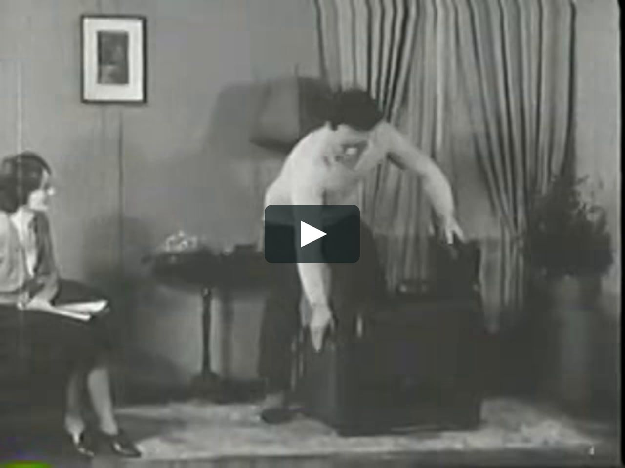 Joseph Pilates Age 56 Demonstrating The Wunda Chair To His Wife Clara In 1936 Joseph Pilates Pilates Chair Pilates