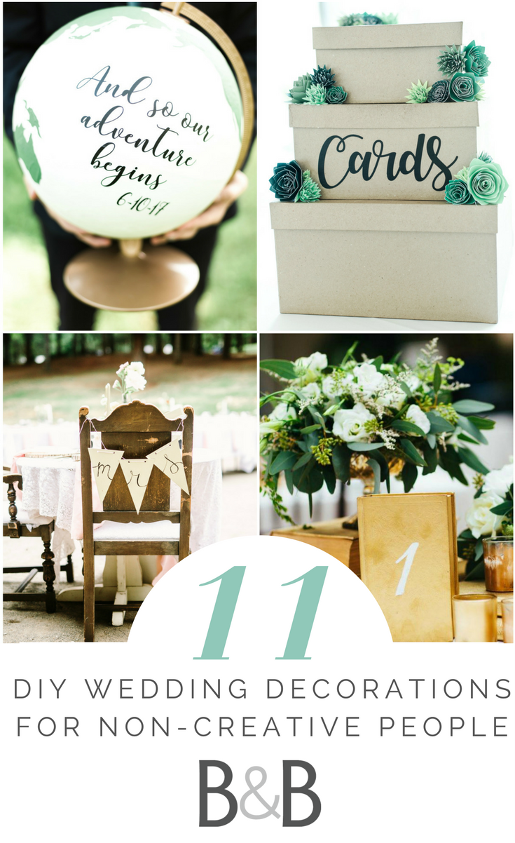 Wedding decorations to make yourself  Wedding advice wedding planning inspiration DIY wedding