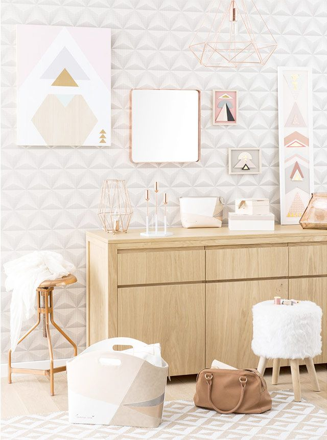 salon scandinave cuivre maisons du monde living copper deco pinterest salon. Black Bedroom Furniture Sets. Home Design Ideas
