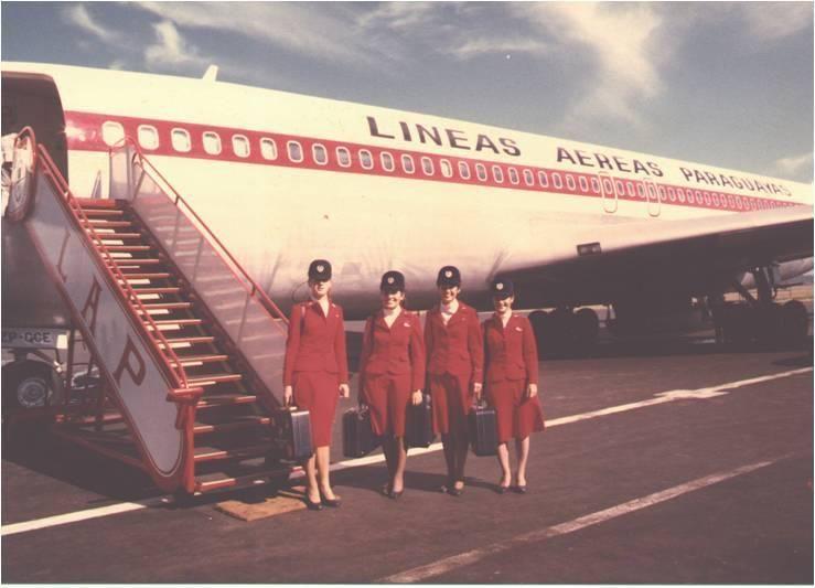 Lineas Aereas Paraguayas Stewardesses Http Www Tocorre Com Dat 33 U2 26 F415393 1631 Lg Jpg Stewardess Cabin Crew Flight Attendant