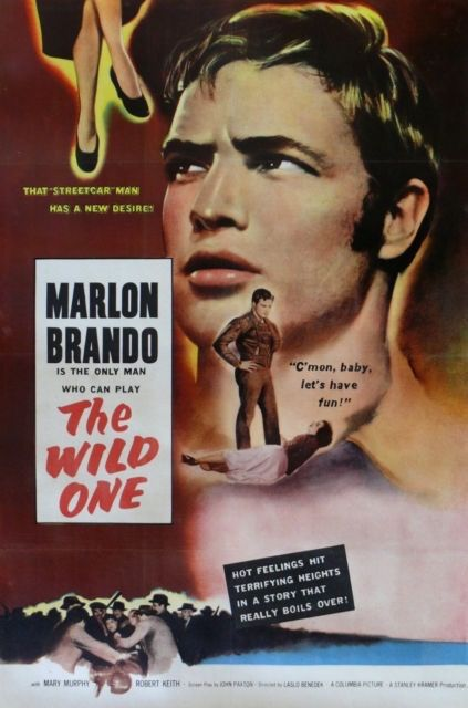 Poster from the film The Wild One