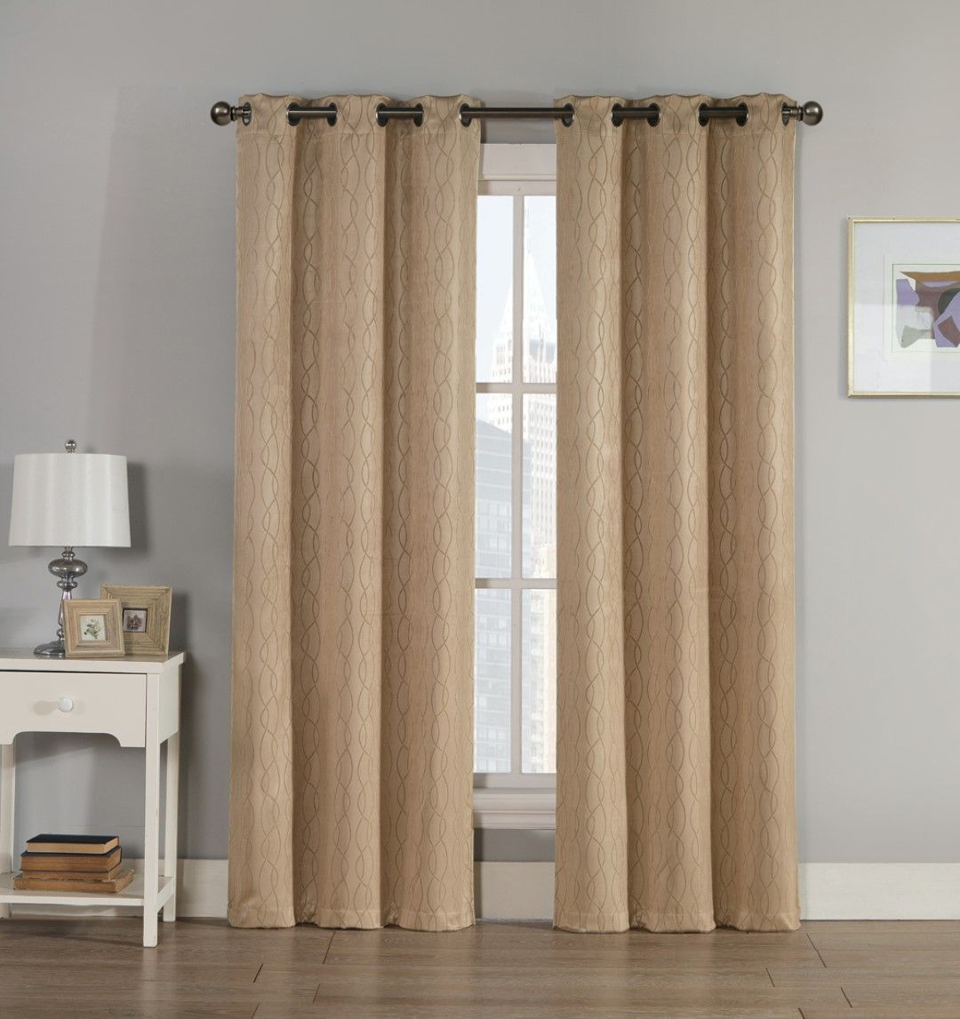 Textiles From Europe Ruby Blackout Embossed Panel Pair 76x84 Products Curtains Panel Curtains Blackout Curtains