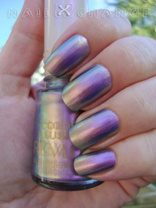 nailXchange: NOTD: Revlon Color Illusion Silver Switch | Nails ...