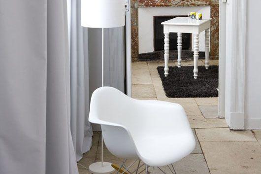 Baudon de mauny Montpellier - reclaimed stone floor