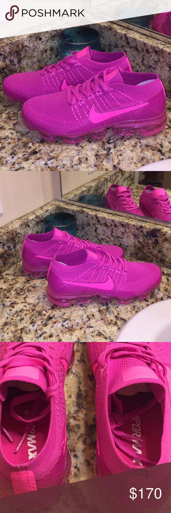 info for 094e5 ef48e Women's Vapormax vapor size 8 New Bright pink Nike Brand new ...