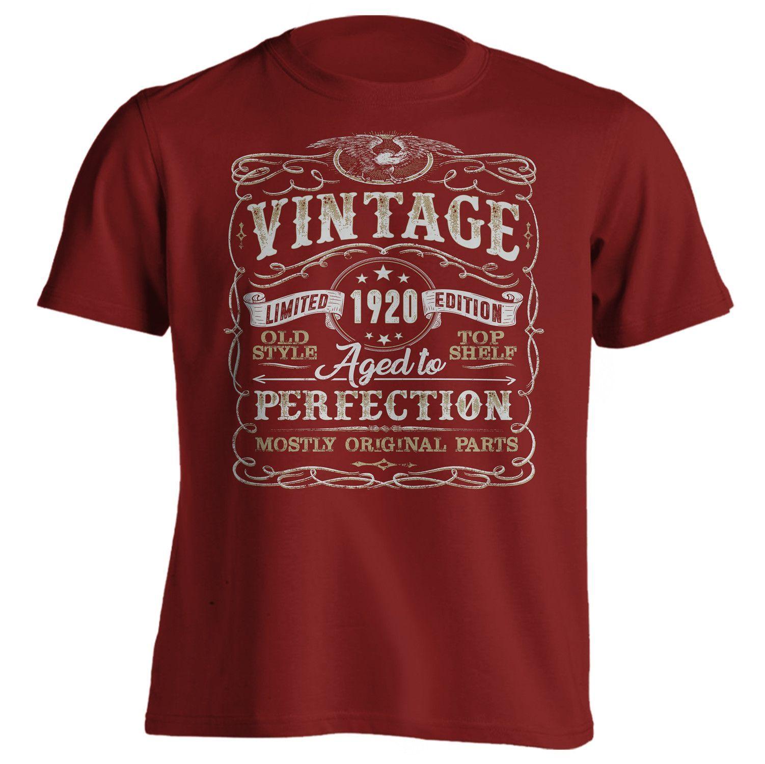 97th Birthday Shirt - Vintage - Mostly Original Parts