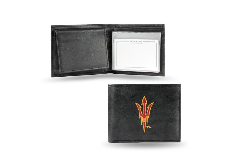 Arizona State Asu Sun Devils Team Embroidered Leather