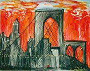"""Brooklyn Bridge"" by George Washnis"