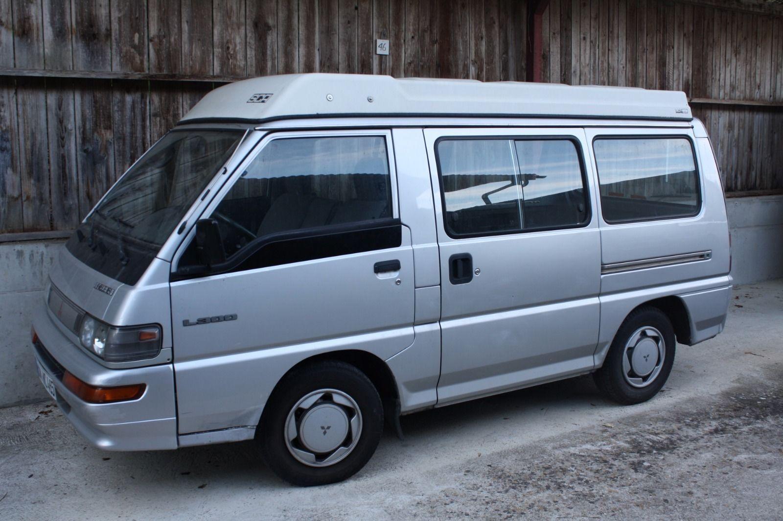 mitsubishi l300 wohnmobil ebay motorhome campers. Black Bedroom Furniture Sets. Home Design Ideas