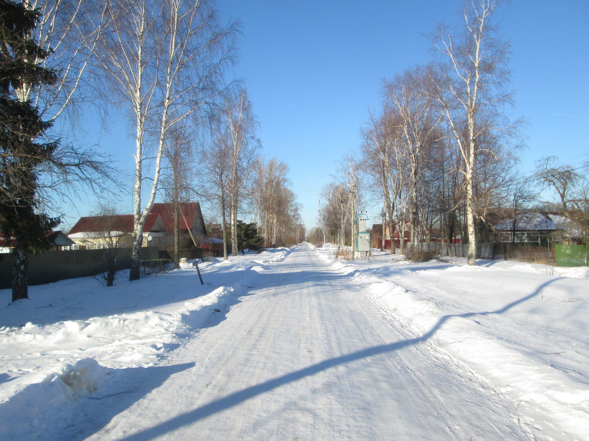 Зима такая... февраль...