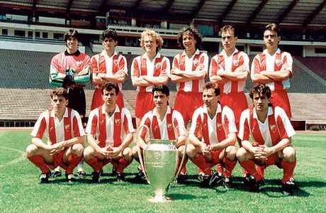 Oldfootballphotos On Twitter Red Star Belgrade Uefa Champions League World Football