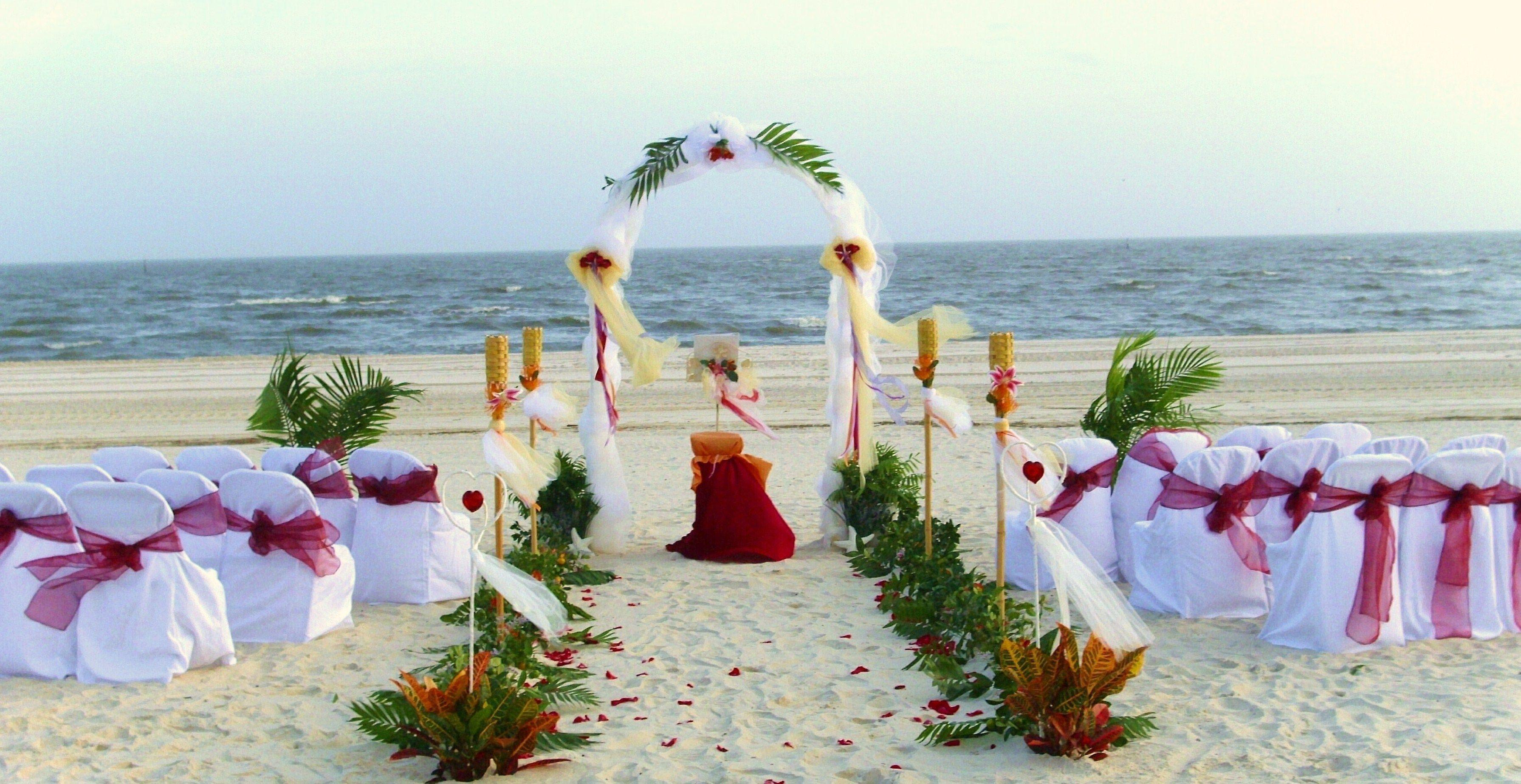 Wedding on the beach - Beach Wedding Signs