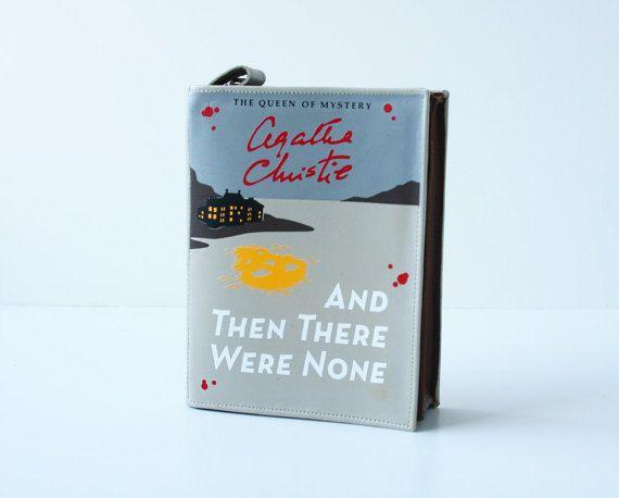 fc7c0b1f61f08 Sale Agatha Christie Leather Book Bag by krukrustudio on Etsy ...