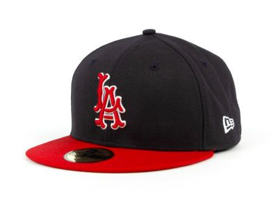 Los Angeles Angels of Anaheim MLB Cooperstown 59FIFTY Hats  fd08f70d6cd