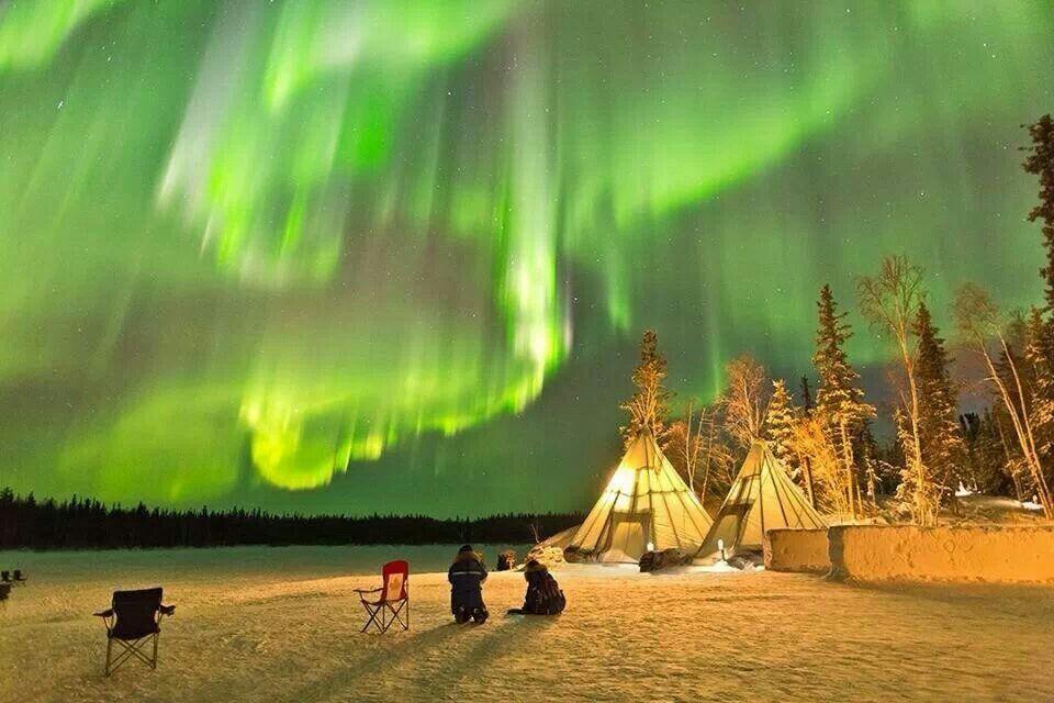 Yellowknife, Canadá.