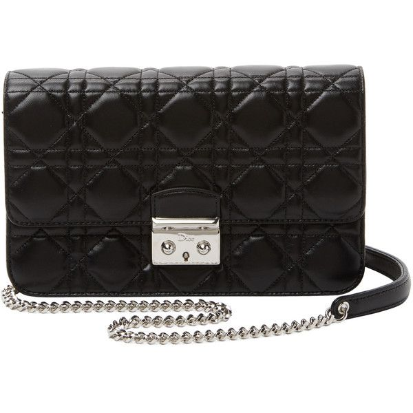 95743e1ee2b5 Dior Dior Women s Miss Dior Cannage Quilted Calfskin Pouch Crossbody -...  ( 1