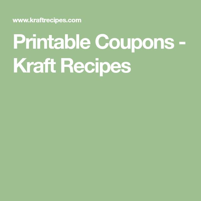graphic relating to Kraft Printable Coupons named Printable Discount codes - Kraft Recipes pilar Kraft heinz