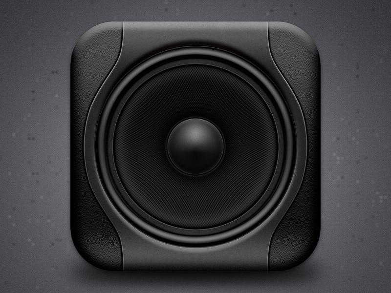 Studio Monitor Icon Studio Monitors Iphone Icon Icon Design Inspiration