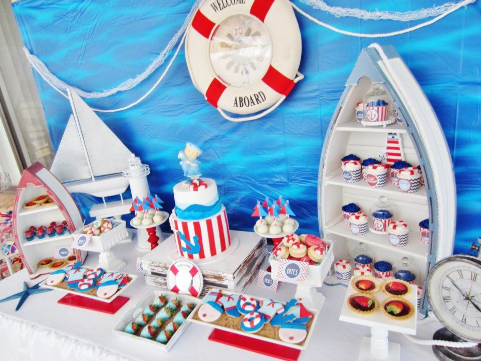 Exceptional Itu0027s A Boy Nautical Baby Shower   Baby Shower Ideas   Themes