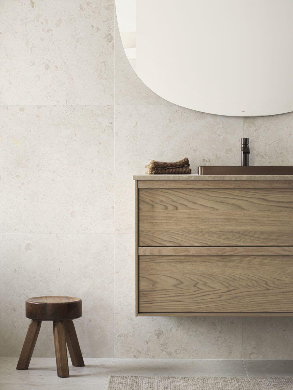 Photo of Beige + Brown bathroom inspiration