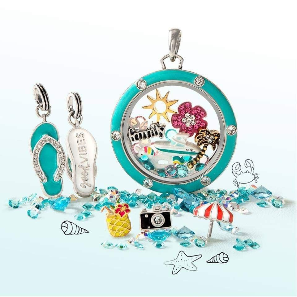Photo of Origami Owl Summer Collection 2019 Www.prettyinpinkp …