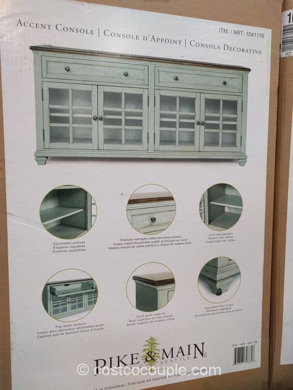 Pike and Main Accent Console Costco | living room | Pinterest