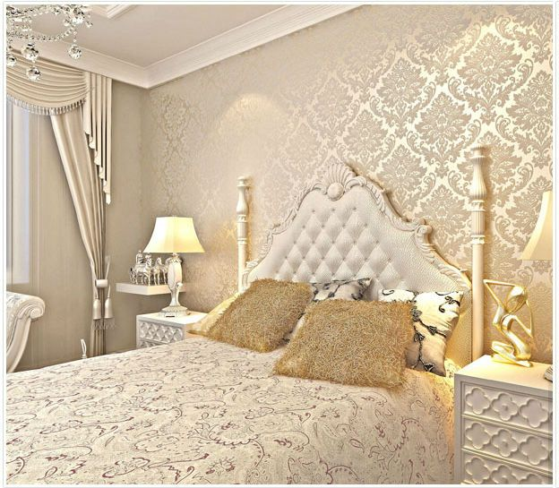 gold teal and white bedroom - Google Search | A Queens ...