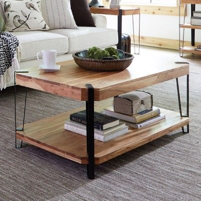 Live Edge Lift Top Coffee Table 11
