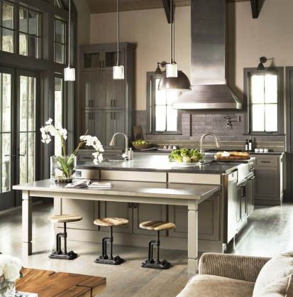 7 New Ideas For Kitchen Island Seating Cultivate Eclectic Kitchen Home Kitchens Kitchen Inspirations