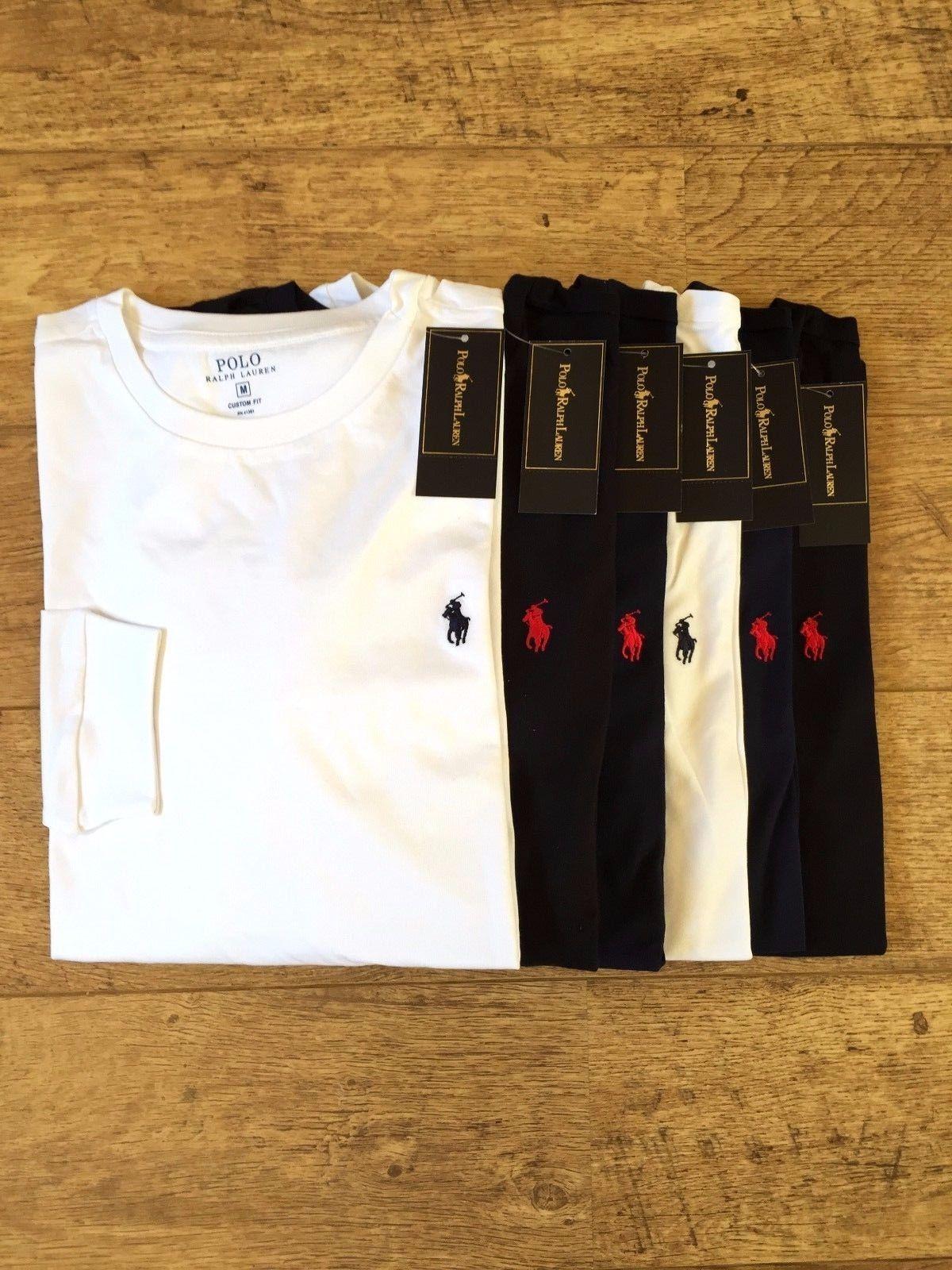 Ralph Lauren Men's Crew Neck Long Sleeve T-Shirt https://t.co/wzwzBkd6Aj https://t.co/pA5E6xyd9R