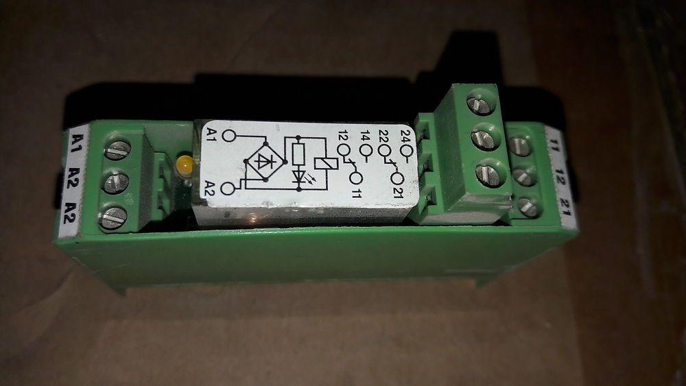 Phoenix Contact Emg 17 Rel Ksr 24 21 21 Lc Nr 2940391 Relay Module Phoenix Contact Relay 21st