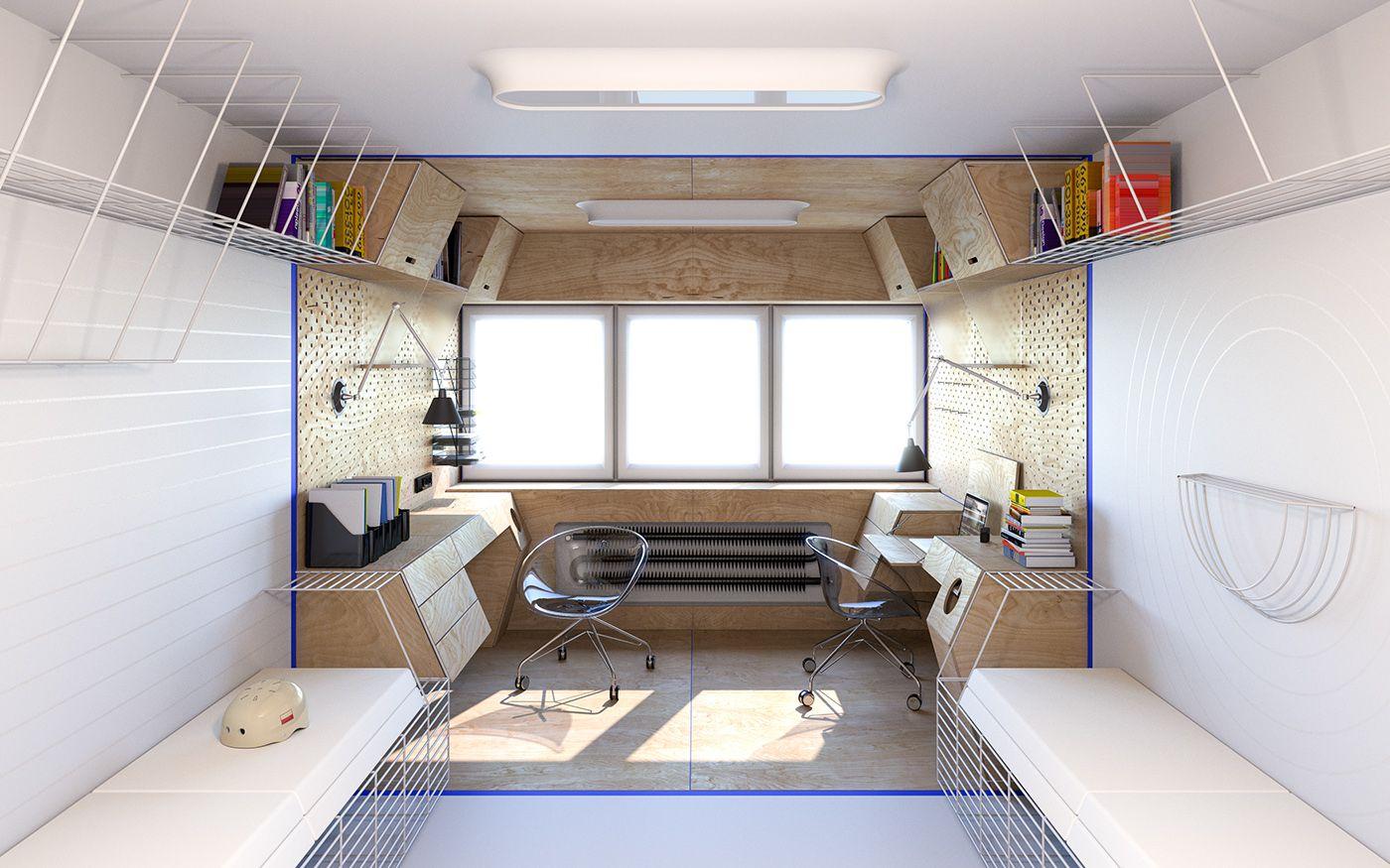 c44cdf55e24cf24b4ecb2cfb64de3499 - 11+ Small Home Office Design Concepts  Images