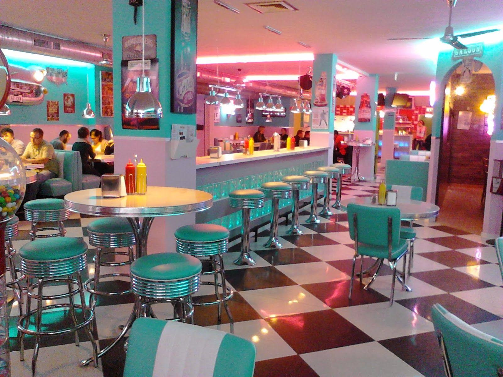 Cuisine Américaine Style Année 50 photo intérieur d'un #american #diner en arizona | design de