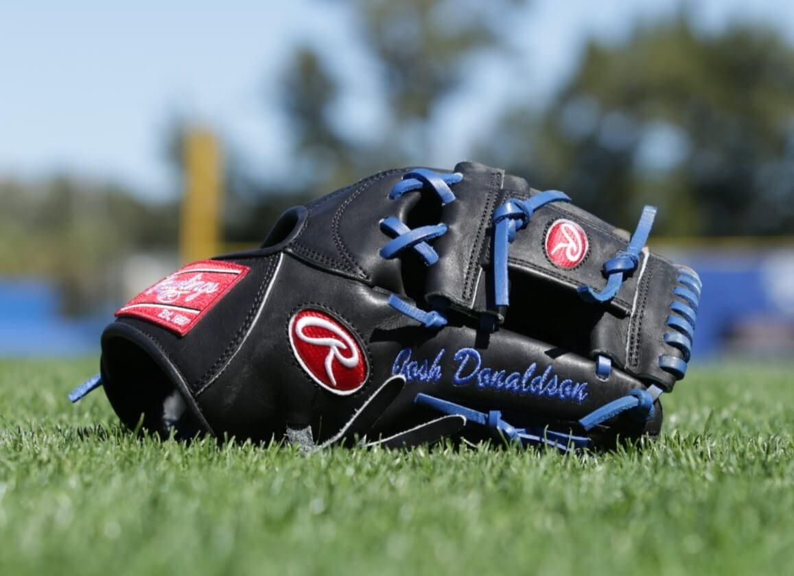 Josh Donaldson S Rawlings Pronp5 Glove Baseball Accessories Josh Donaldson Gloves
